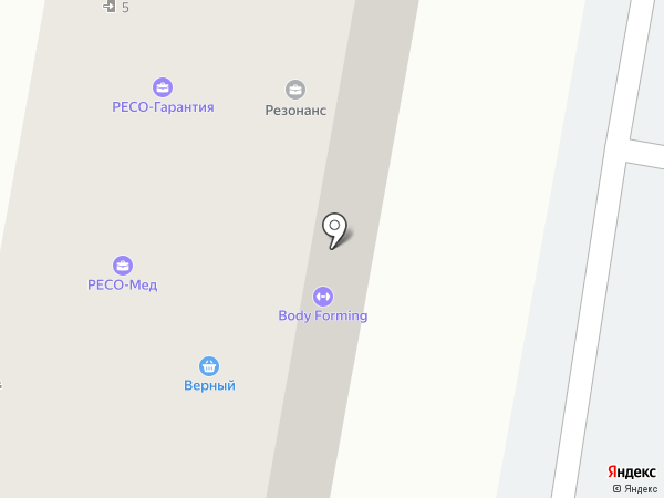 ТОНУС КЛУБ на карте Москвы