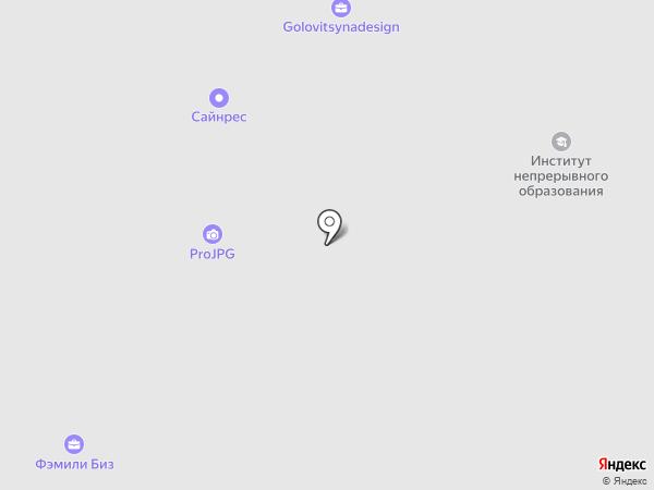 Карьерная Лестница на карте Москвы