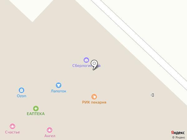 Астерик на карте Ржавок