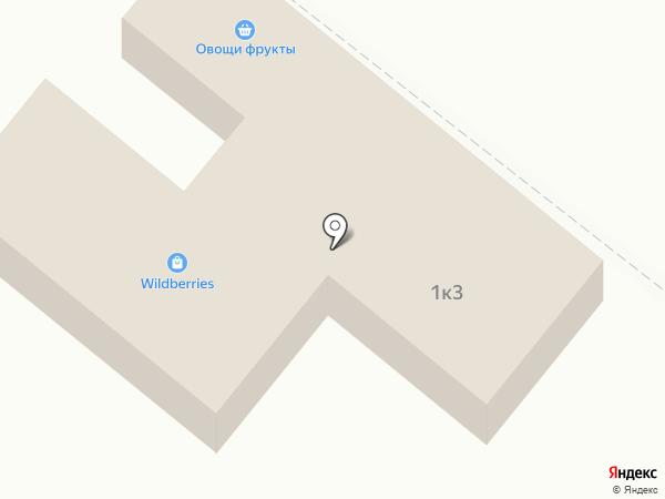 Магазин овощей и фруктов на карте Ржавок