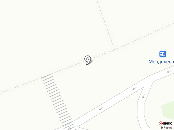 Союзпечать на карте Менделеево