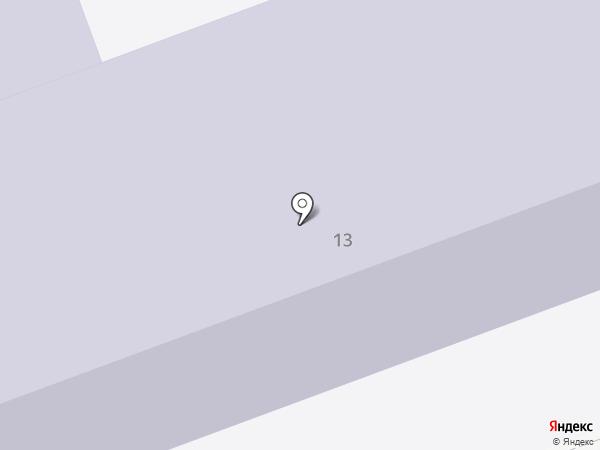 Менделеевская средняя общеобразовательная школа №1 на карте Менделеево