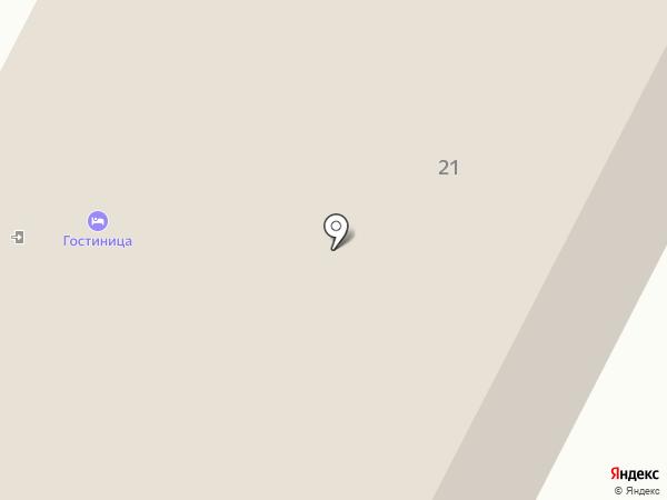 Гостиница на карте Менделеево