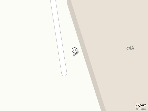 Солнечная Аллея на карте Менделеево
