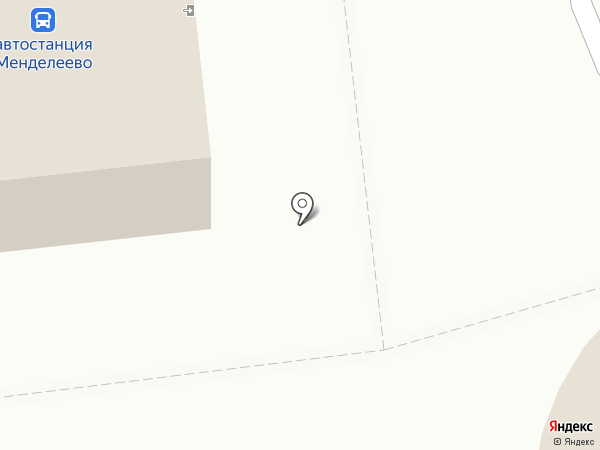 Менделеево на карте Менделеево
