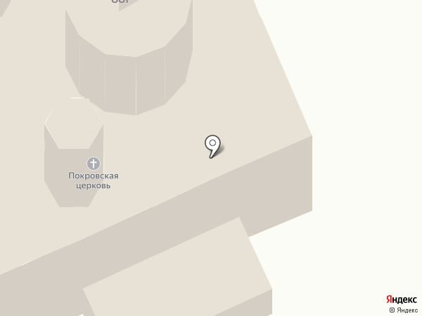 Храм Покрова Пресвятой Богородицы в Акулово на карте Акулово