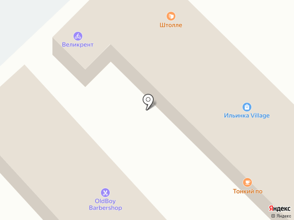 OLDBOY на карте Ильинского