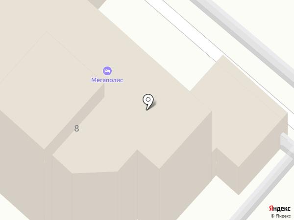 Мегаполис на карте Анапы