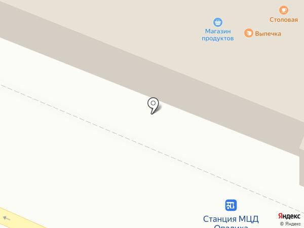 Первая полоса на карте Красногорска