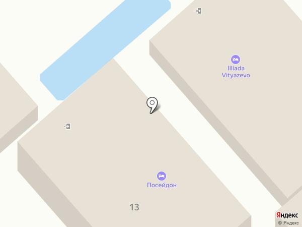 Посейдон-2 на карте Анапы