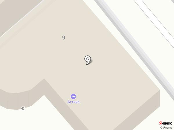 Аттика на карте Анапы