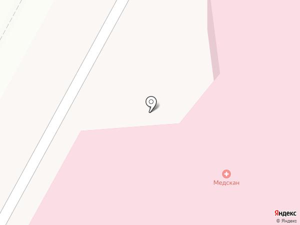 Медскан.рф на карте Глухово