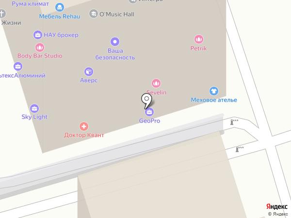 Юнион на карте Одинцово