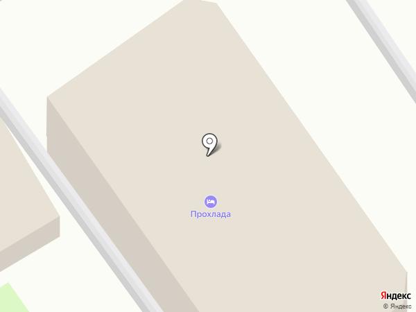 Прохлада на карте Анапы
