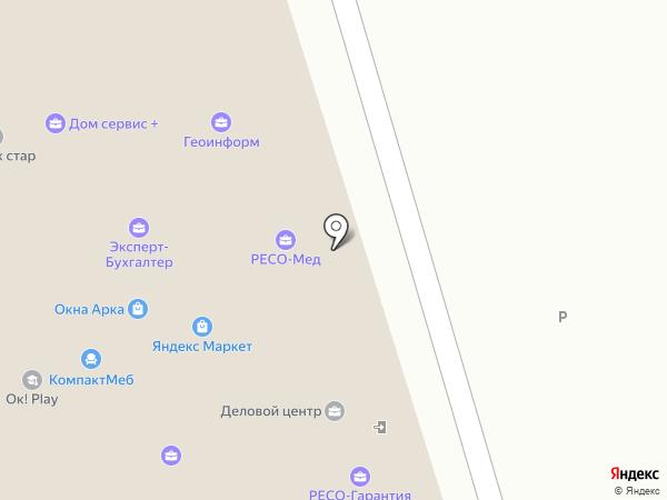ЮрКом на карте Одинцово