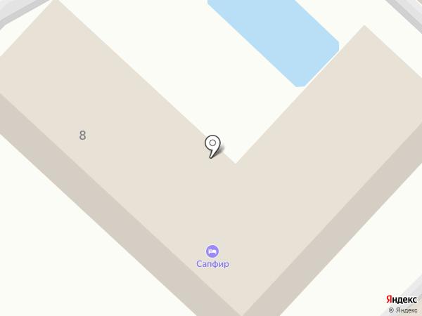 Галатея на карте Анапы