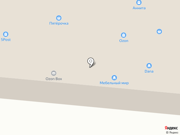 Мебельный мир на карте Красногорска