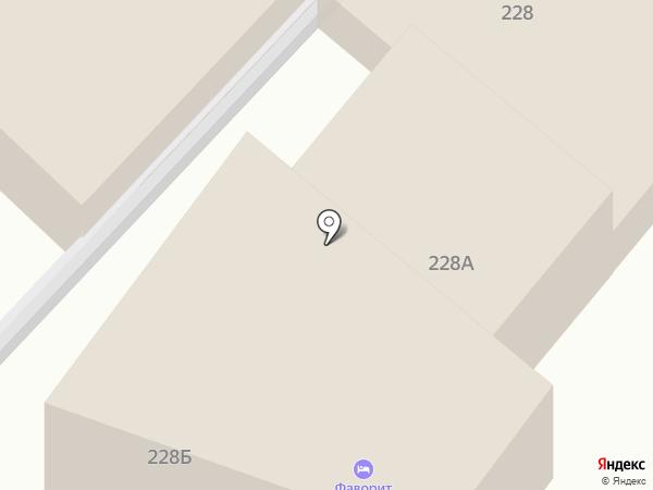 Адельфи на карте Анапы