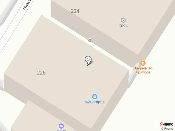Дрова на карте Анапы
