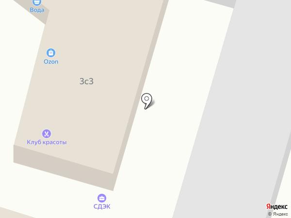 Продуктовый магазин на Сосновой на карте Юрлово