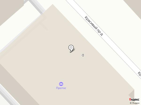 ПРОТОС на карте Анапы