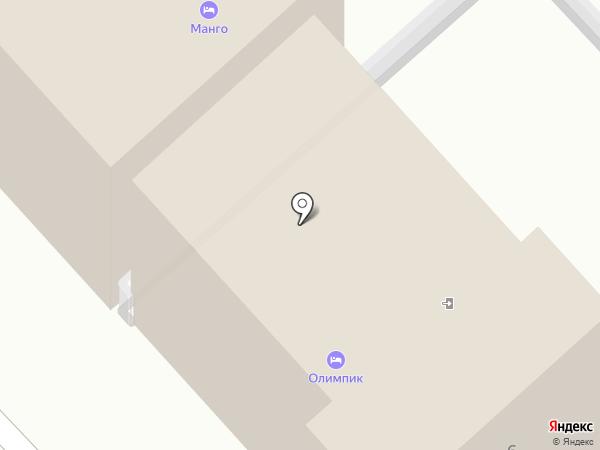 Олимпик на карте Анапы