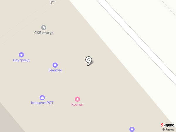 Ковчег на карте Одинцово
