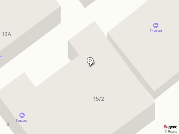 Геракл на карте Анапы