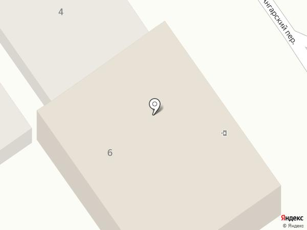 Галант на карте Анапы