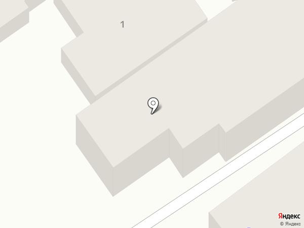 Парус на карте Анапы