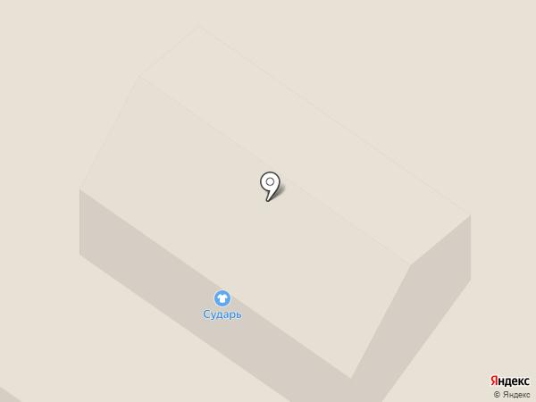 Сударь на карте Ржавок