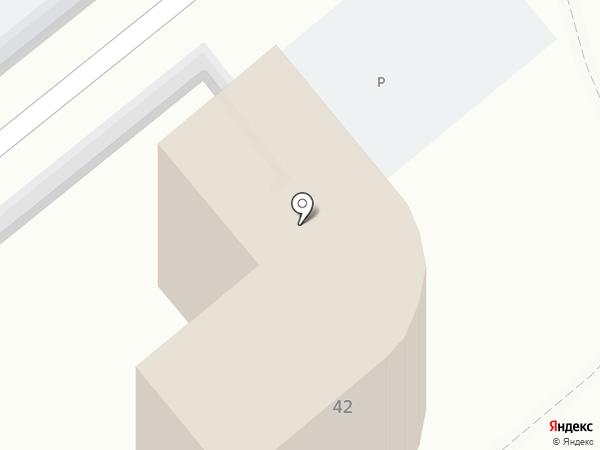 Гранд-Элит на карте Анапы