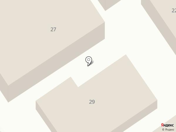 Аида на карте Анапы