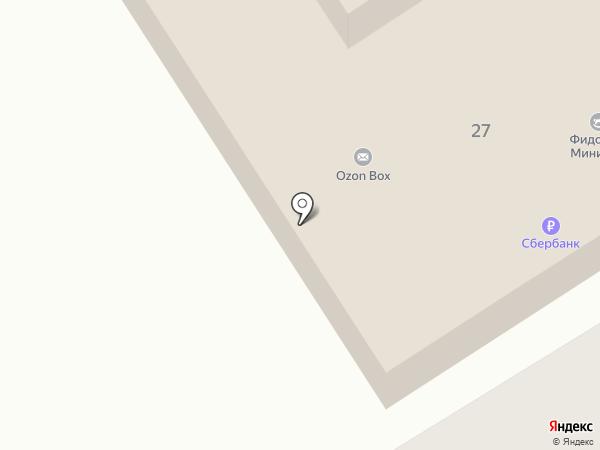 Фидонтек на карте Красногорска