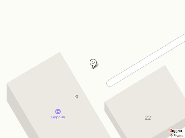 Верона на карте Анапы