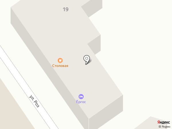 Ёргос на карте Анапы