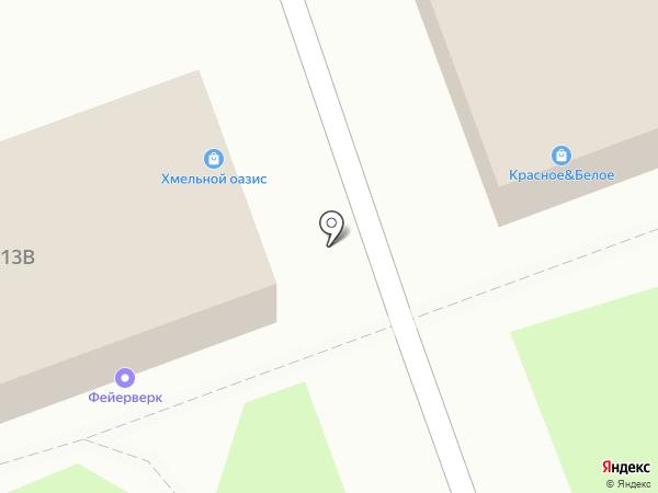 Наш район Одинцово на карте Одинцово