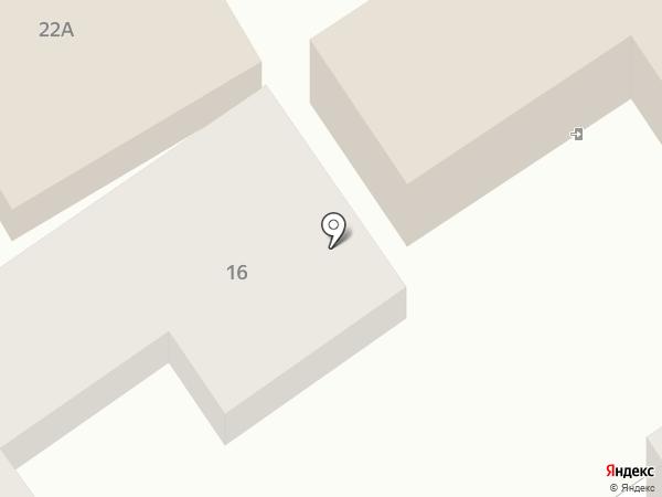 Костас на карте Анапы