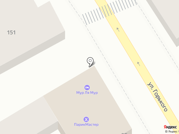 Sushi shop на карте Анапы