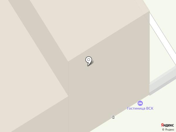 Гостиница на карте Одинцово