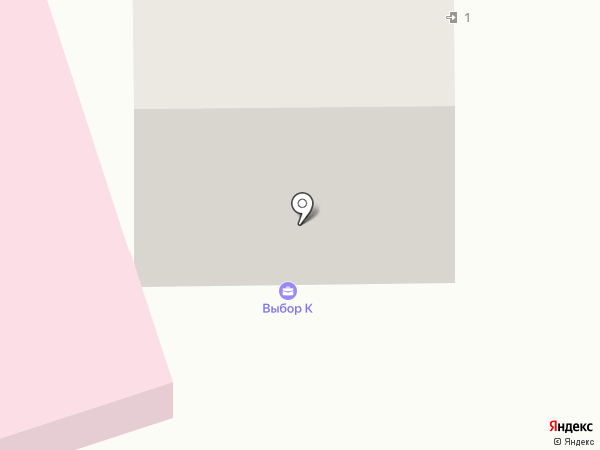 Выбор К на карте Одинцово
