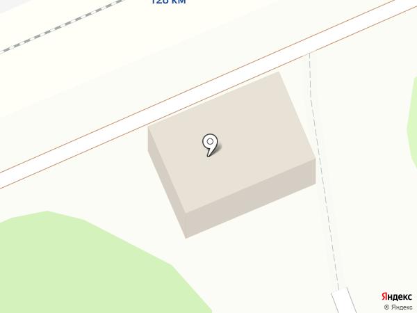 Остановочный пункт 128км на карте Покрова