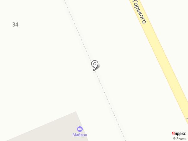 Волна на карте Анапы