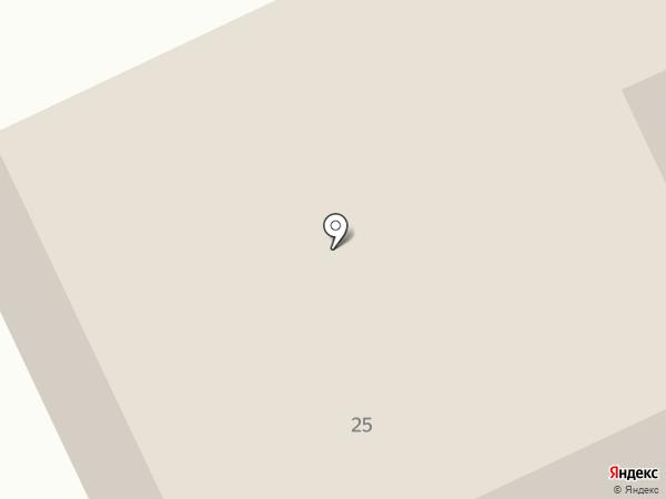 Голубой простор на карте Анапы