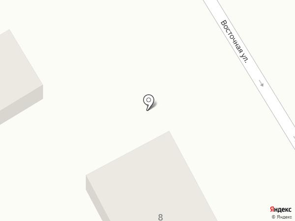 Лидия на карте Анапы