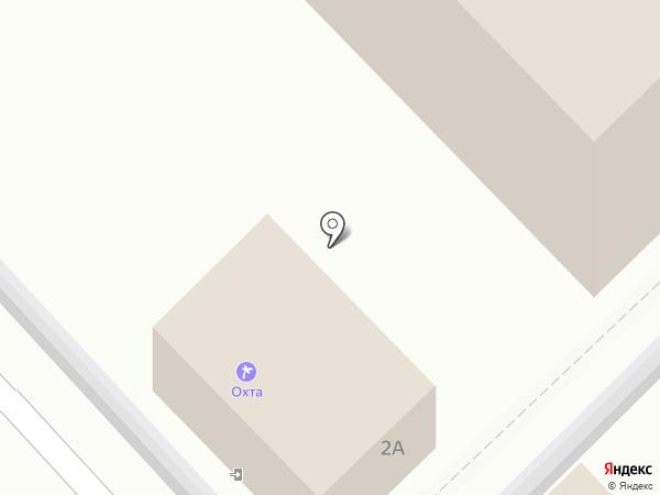 Охта на карте Анапы