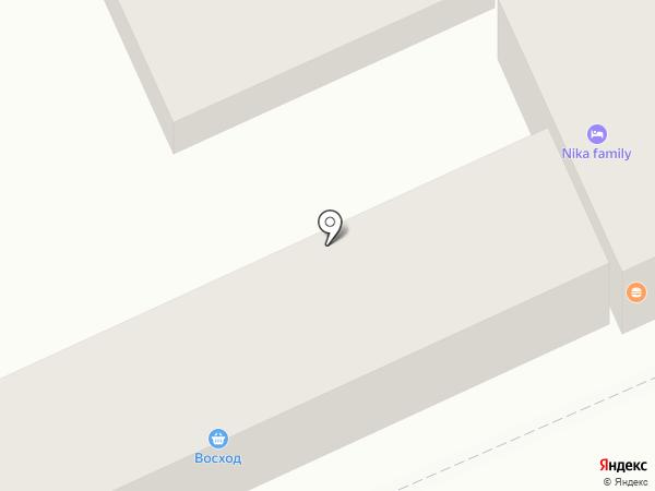 Вила Олива на карте Анапы