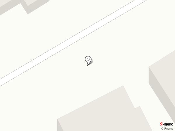 Гостиница на карте Анапы