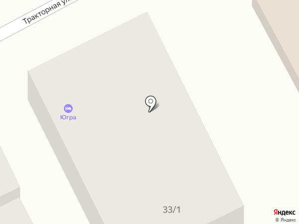 Югра на карте Анапы