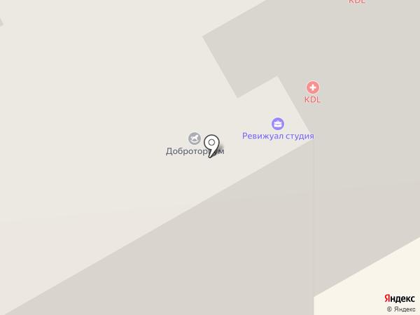 Доброториум на карте Одинцово
